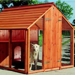Pet houses, kennels, catteries and aviaries
