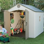 Plastic sheds from storemore