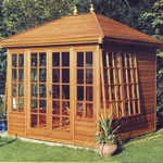 Summerhouses, gazebos and garden rooms